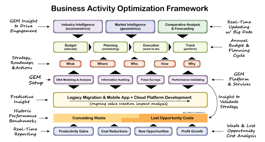 GEM Analytics Business Activity Optimization Framework